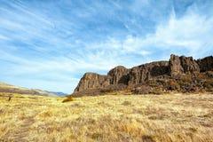 Horsethief Butte Columbia River Gorge Stock Photos