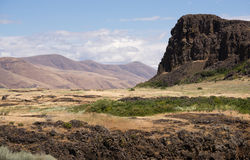 Horsethief Butte Columbia River Valley Washington State Royalty Free Stock Image