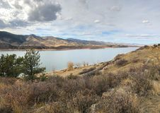 Horsetooth Reservoir in Fort Collins Colorado royalty free stock photography