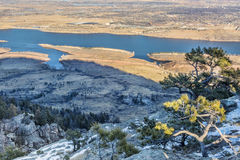 Horsetooth Reservoir Royalty Free Stock Photography