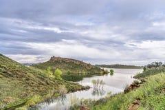 Horsetooth Reservoir at springtime Stock Photos
