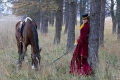 horsewoman Стоковые Фото