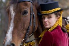 horsewoman Стоковые Изображения RF