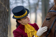 Horsewoman Royalty Free Stock Photos