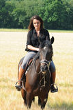 horsewoman Imagens de Stock Royalty Free