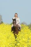 Horsewoman Stock Photo