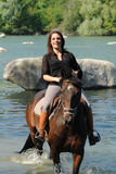 Horsewoman Stock Photos