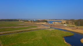 Horsey Mere is one of the Norfolk Broads in the east of England. Horsey  mere one norfolk broads east england more northerly close sea coast reached hickling royalty free stock images