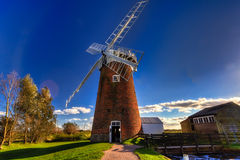 Horsey Windpump Front Royalty Free Stock Photography