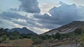 Horsley hills, Andhra Pradesh. Horsley hills landscape view, Andhra Pradesh, India stock image
