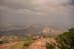 Horsley Hills, Andhra Pradesh, India. Horsley Hills landscape, Andhra Pradesh, India Stock Image