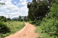 Horsley kullar, Andhra Pradesh, Indien Fotografering för Bildbyråer