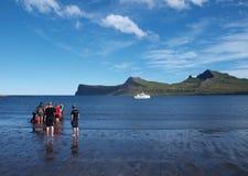 Horsntrandir, reserva de natureza, Islândia. Fotografia de Stock Royalty Free