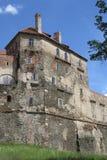 Horsovsky Tyn城堡 免版税库存照片