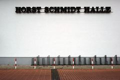 Horst Schmidt Hall Griesheim photo libre de droits