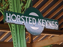 Horsted Keynes sign Royalty Free Stock Images