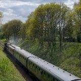 HORSTED KEYNES, SUSSEX/UK - APRIL 13: Flygskotte på Blen Royaltyfri Bild