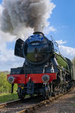 HORSTED KEYNES, SUSSEX/UK - APRIL 13 : Flying Scotsman on the Bl royalty free stock image
