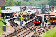 HORSTED KEYNES, SUSSEX/UK - MAY 7 : View down to Horsted Keynes Royalty Free Stock Images
