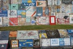 Horta Açores, articrafts dos marinheiros Imagem de Stock Royalty Free
