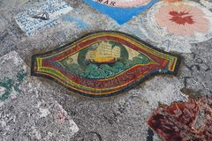 Horta Azzorre, articrafts dei marinai Immagine Stock Libera da Diritti
