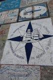 Horta Azzorre, articrafts dei marinai Fotografia Stock