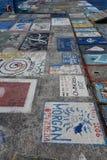 Horta Azzorre, articrafts dei marinai Fotografie Stock Libere da Diritti