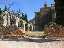 Horta de Sant Joan, Spanien Arkivbilder