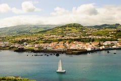 Horta, Faial Royalty-vrije Stock Fotografie
