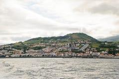Horta, Faial Royalty-vrije Stock Foto's