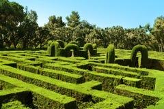 Horta Labyrinth Royalty Free Stock Photography