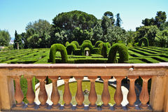Horta labyrinth park Royalty Free Stock Photography