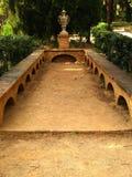 hortalaberint för 17 barcelona D Royaltyfri Foto