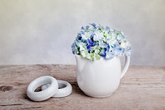 Hortensia Flowers Stock Images