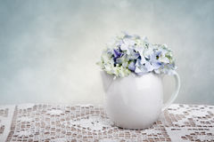 Hortensia Flowers Royalty Free Stock Images