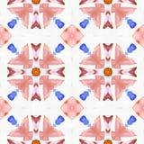 Hortensias de kaléidoscope de batik réalistes Photographie stock