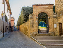 Horti Leonini, San Quirico d'Orcia Royalty Free Stock Photo