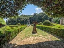 Horti Leonini in San Quirico d'Orcia  in Tuscany, Stock Image