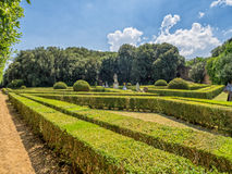 Horti Leonini in San Quirico d'Orcia  in Tuscany, Royalty Free Stock Photography