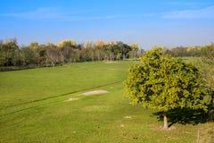 Hortobagy国家公园,匈牙利 它是联合国科教文组织世界遗产名录站点自1999年以来 整个ar 免版税图库摄影