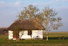 Free Hortobagy National Park, Traditional And Old Hungarian Shepherd`s Houses In Hortobagy Puszta Stock Photos - 159599773