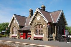 Horton dans la gare de Ribblesdale Images libres de droits