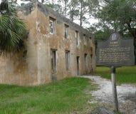 Horton House Historic Site Tabby Ruins stock photo