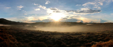 Horton Plains National Park in the morning Royalty Free Stock Images