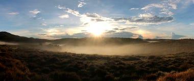 Horton Plains National Park pendant le matin images libres de droits