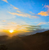 The Horton Plains. Sunrise Royalty Free Stock Photos