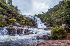 Horton plains waterfall Stock Image
