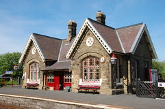 Horton in Ribblesdale station Royalty Free Stock Images