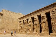 Horus寺庙 免版税库存照片