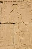 horus我seti寺庙 库存照片